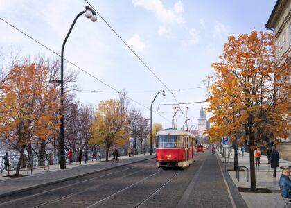 AutoMat vítá politickou shodu na rekonstrukci Smetanova nábřeží a upozorňuje na nedostatky konceptu