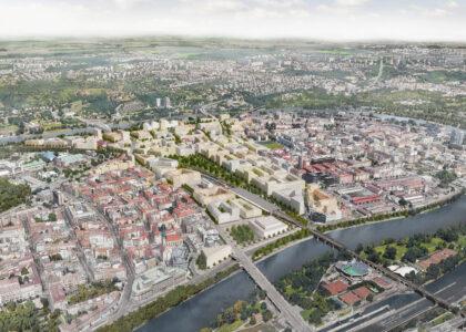 Hotová územní studie nové čtvrti v Bubnech s podstatnými připomínkami obyvatel nepočítá