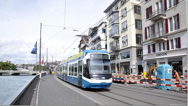 curych tramvaj