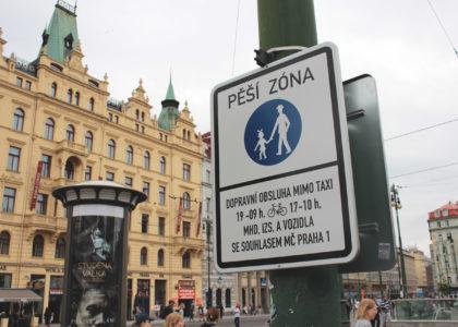 Aktuální vyjádření k cyklistické dopravě v centru Prahy
