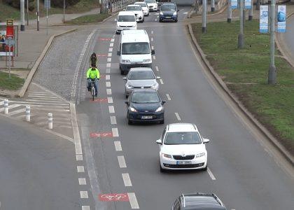 Nejkontroverznější cyklopruhy v Praze