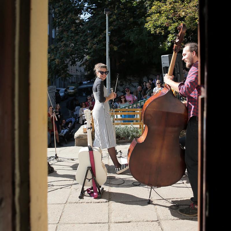 Nuselské schody - Foto Alena Chlumská