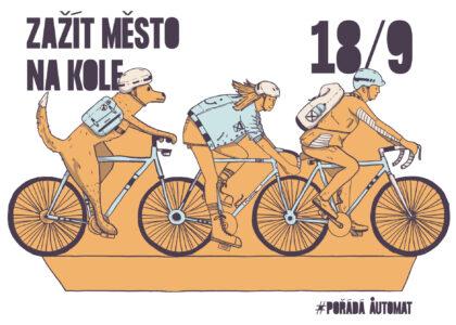 Zažít město na kole aneb Potulná cykloporadna s AutoMatem 18. září